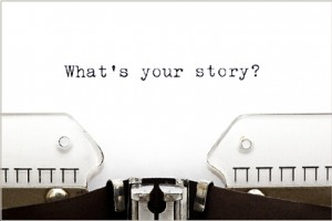 Selling stories and not products