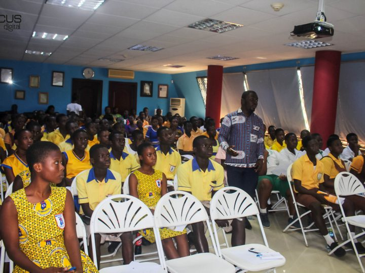L'AINE FOUNDATION HOLDS LEADERSHIP TRAINING SESSION FOR 12 SCHOOLS IN LEDZOKUKU-KROWOR MUNICIPAL ASSEMBLY (LEKMA).
