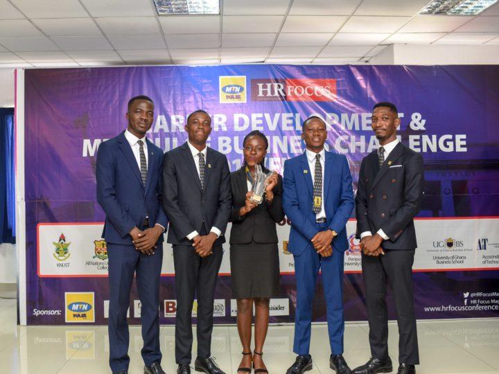 UNIVERSITY OF PROFESSIONAL STUDIES ACCRA (UPSA) WINS MTN PULSE-HR FOCUS BUSINESS CHALLENGE 2018