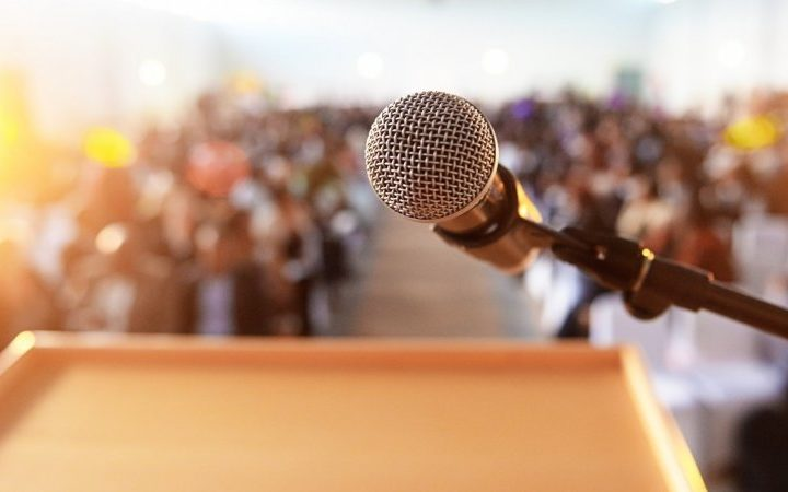 Are you afraid of Public Speaking? 7 tips to get you started…